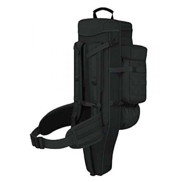 East West U.S.A Tactical Backpack 4 East West U.S.A RT538/RTC538 Tactical Molle Military Assault Rucksacks Backpack, Black