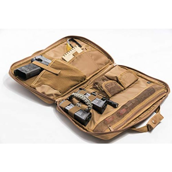 LA Police Gear Tactical Backpack 3 LA Police Gear Tactical Nylon Soft Pistol/Electronic Gear Case