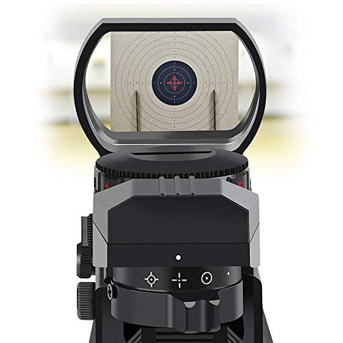 SUIYEU Rifle Scope 5 Reflex Sight - Adjustable Reticle Both Red and Green in one Sight - 4 Styles