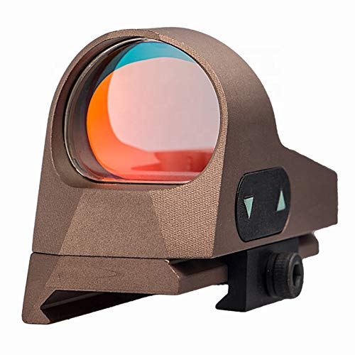 UELEGANS Rifle Scope 3 UELEGANS Red Dot Sight 9 BrightnessReflex Sight Red Dot Scope Sights for 20mm Mount for Outdoor Hunting