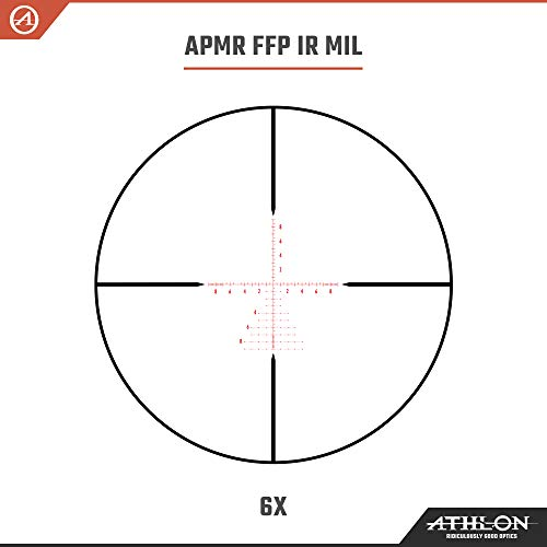 Athlon Optics Rifle Scope 4 Athlon Optics Helos BTR 6-24x50 First Focal Plane Riflescopes