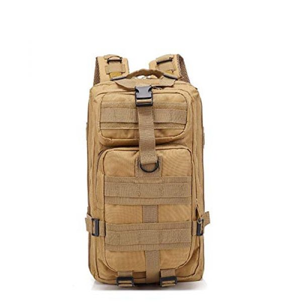 Circadus Tactical Backpack 4 Circadus Military Style Outdoor Hiking Backpack. Compact Tactical Travel Rucksack for Camping, Hunting, Hiking, Trekking, School. Unisex