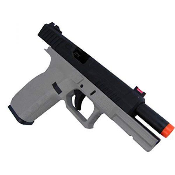 Lancer Tactical Airsoft Pistol 4 Lancer Tactical KJW KP-13 Meta Gas Blowback Airsoft Pistol Urban Grey