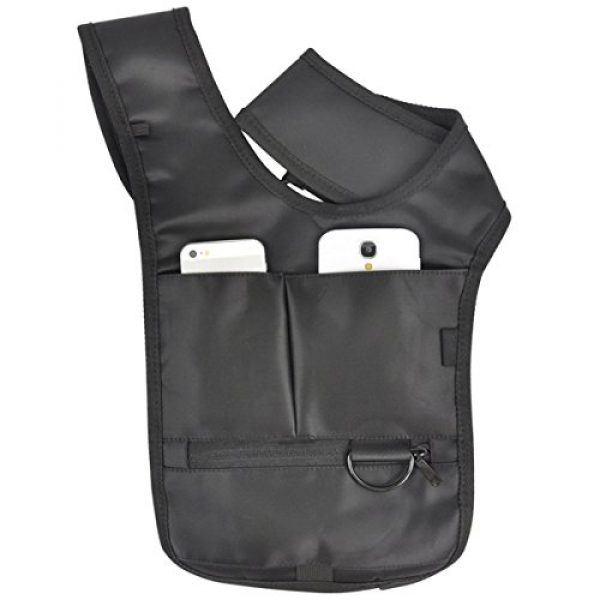ECYC Tactical Backpack 4 ECYC Men Security Holster Strap Messenger Bags Underarm Shoulder Bag Burglar Phone Pouch Tactical Bag