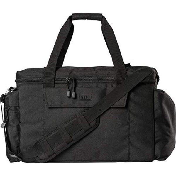 5.11 Tactical Backpack 3 5.11 Tactical Basic Patrol Bag 37 Liters, Adjustable/Removable Shoulder Strap, Style 56523 & Men's 1.5-Inch Convertible TDU Belt, Nylon Webbing, Fade-and Fray-Resistant, Style 59551 Black, X-Large