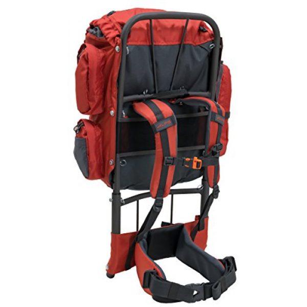 ALPS Mountaineering Tactical Backpack 4 ALPS Mountaineering Red Rock External Frame Pack, 34 Liters (3402229)