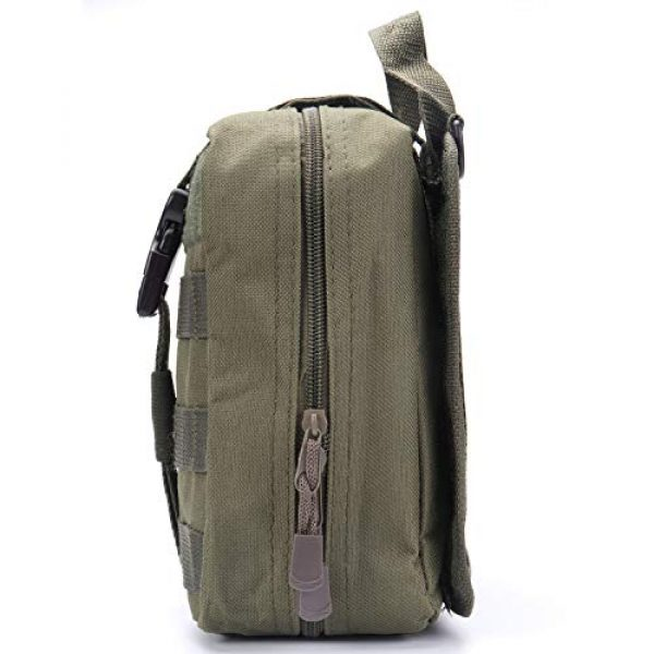 ASEEBY Tactical Pouch 3 ASEEBY First Aid Kit Utility MOLLE Pouch Bag Rip-Away Tactical Bag Compact Accessory Tool Carrier Pocket for Military Advanture Outdoor Camping