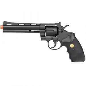 Airsoft Airsoft Pistol 1 Airsoft 357 Magnum Revolver Full Size Spring Pistol Hand Gun w/Shells 6mm BB