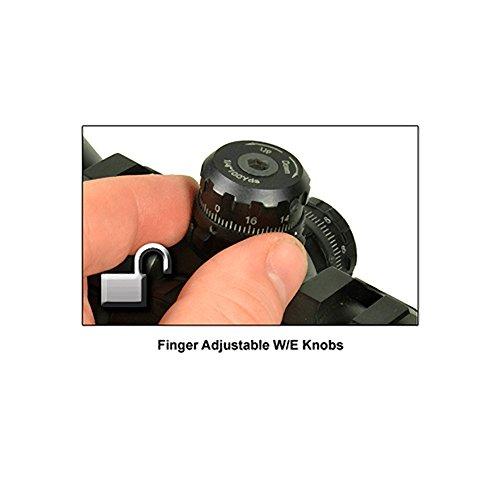 """UTG Rifle Scope 4 UTG 3-9X32 1"""" BugBuster Scope, AO, RGB Mil-dot, QD Rings"""