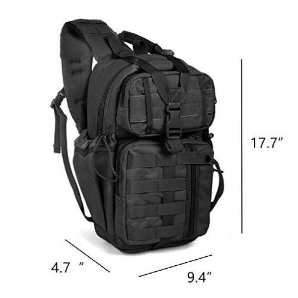 ABENAKI Tactical Backpack 2 ABENAKI Tactical Sling Bag Pack Military Rover Shoulder Backpack Bowmen Bag