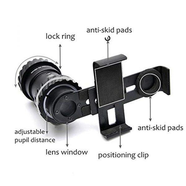 MUJING Rifle Scope 4 MUJING Rifle Scope Mount Adapter Camera Smartphone Mount Holder Universal for Phones