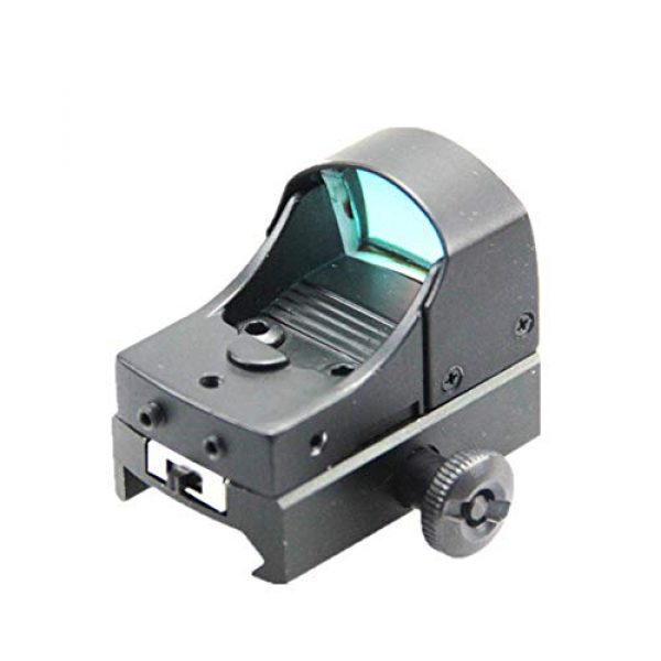 DJym Rifle Scope 1 DJym Tactical Mini Micro Red Dot Sight Red Dot Scope for Hunting with 22mm Mount