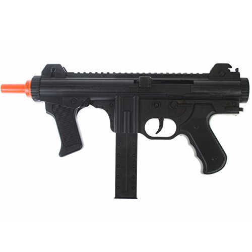 Dark Ops Airsoft Airsoft Rifle 1 Dark Ops Airsoft Spring Power P1238 Mini SMG Tactical Soft Air Gun Pistol + BBS