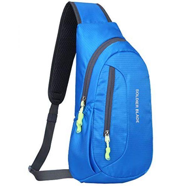 Peicees Tactical Backpack 1 Peicees Sling Backpack Shoulder Chest Crossbody Bag Purse Lightweight Waterproof Daypack for Men Women