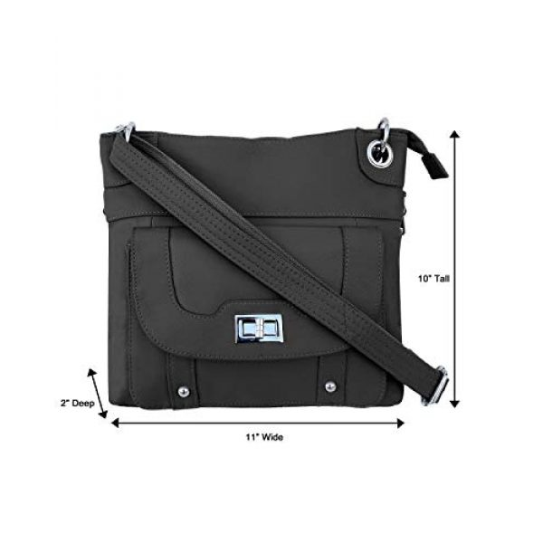 Roma Leathers Inc Tactical Backpack 5 Roma Leathers Inc Women's Crossbody Bag