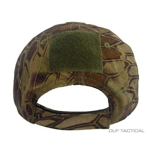 DLP Tactical Tactical Hat 3 DLP Tactical Camo Operator Hat Baseball Cap with Hook and Loop Fastener Panels
