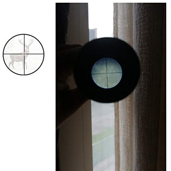 Luger Rifle Scope 4 Luger Tactical 4X Rifle Scope Hunting Shooting Outdoor Sports Game Toy Accessories
