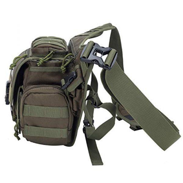 Aveler Tactical Backpack 6 Aveler Nylon Multifunction Sling Bag Tactical MOLLE Military Crossbody Backpack