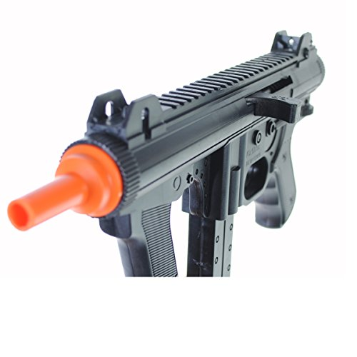 Dark Ops Airsoft Airsoft Rifle 3 Dark Ops Airsoft Spring Power P1238 Mini SMG Tactical Soft Air Gun Pistol + BBS