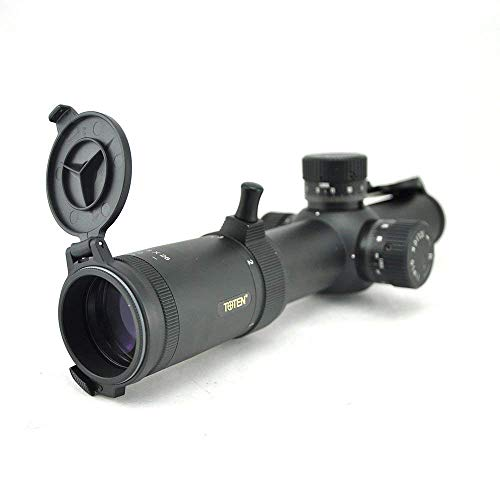 Visionking Rifle Scope 4 Visionking Rifle Scope 1-8X26 FFP Illuminated Crosshair Rifle Scopes for Tactical 0.1mil Click