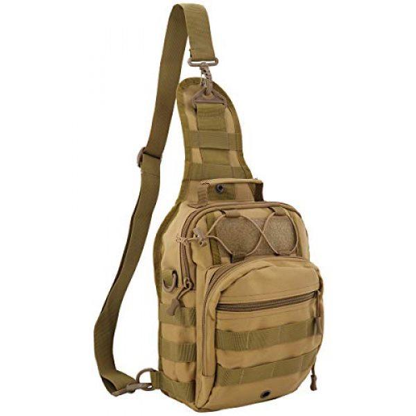 Gisdanchz Tactical Backpack 1 Gisdanchz Outdoor Tactical Molle Bag Military Backpack Sling Crossbody Shoulder Bags for Men Women