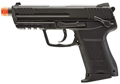 Umarex Airsoft Pistol 1 Umarex HK Heckler & Koch HK45 GBB Blowback 6mm BB Pistol Airsoft Gun, Black, HK45 Compact GBB, one Size (2275034)