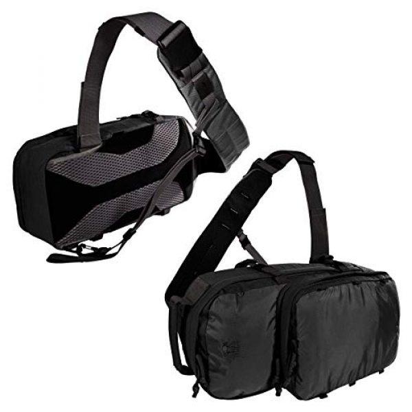 Tasmanian Tiger Tactical Backpack 5 Tasmanian Tiger TAC Sling Pack 12, Tactical Sling Bag with MOLLE, YKK Zippers, Hydration Compatible