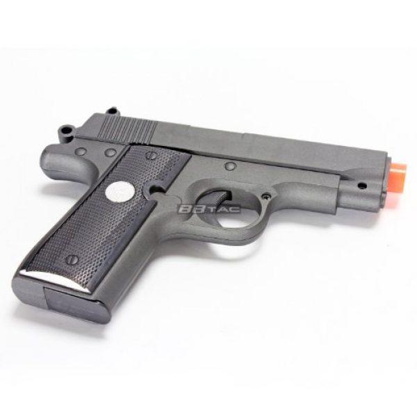BBTac Airsoft Pistol 6 bbtac bt-g2 full metal slide body sub compact 240 fps spring airsoft gun and tactical skeleton hammer(Airsoft Gun)