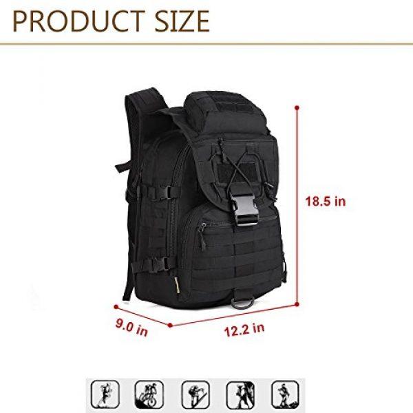 Huntvp Tactical Backpack 4 Huntvp 40L Military Tactical Backpack MOLLE Assault Daypack Rucksack WR