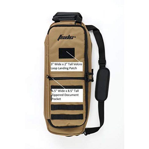 FSDC Tactical Backpack 4 FSDC CARETAKER Coyote Tan 498 Takedown Bag Gen II