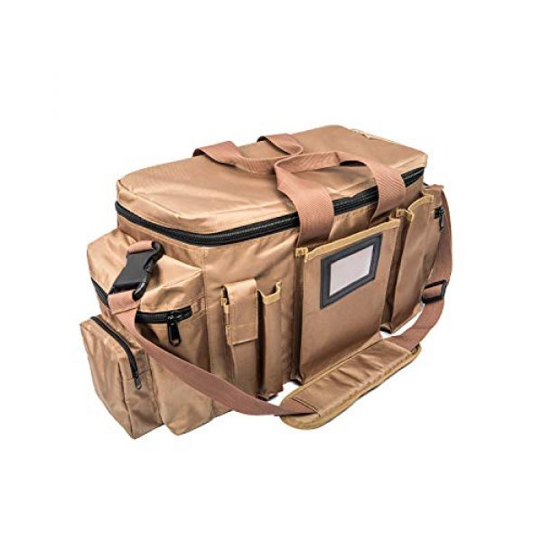 FiveStar Products, LLC Tactical Backpack 2 FIVESTAR Range Bag Tactical Style Duffel Heavy Duty Zippers 600D Ballistic