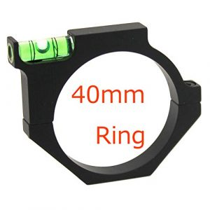 ELAN MILRE Rifle Scope Accessory 1 ELAN MILRE Rifle Level Scope Mount 40MM Ring Mounts with Level Ball for Hunting Tactical Optical Sight Scope