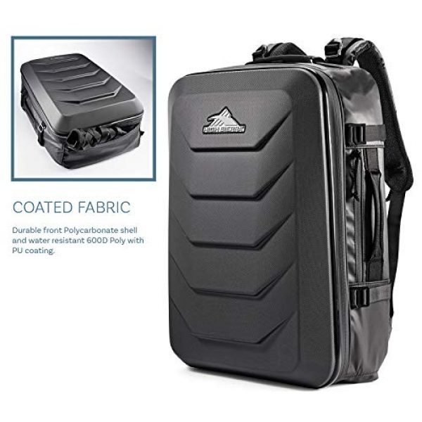High Sierra Tactical Backpack 6 High Sierra OTC 35L Carry-on Weekender Suitcase Luggage - Ideal for Travel and Laptop Backpack
