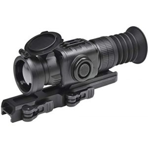 PRG Defense Rifle Scope 1 PRG Defense 33093455006PM21 Model Python TS50-Micro Compact Short/Medium Range Thermal Imaging Rifle Scope, 384x288 Resolution, 50mm Lens, 7.4°x5.6° Field of View, 5m Close-up Range, 60m Eye Relief