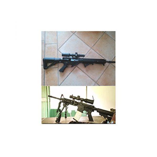 Vector Optics Rifle Scope 5 Vector Optics Arbiter 1-4x24mm 1/2 MOA Compact Tactical Riflescope with Red Dot Illuminated Reticle (Matte Black)