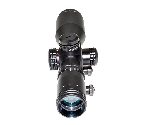 Eastvale Rifle Scope 6 Eastvale 2.5-10X40 Compact Rifle Scope with Illuminated Red, Green, Blue Mil-Dot Reticle Including Quick Detach Picatinny Mount