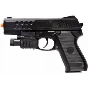 UKARMS Airsoft Pistol 1 UKARMS M888AF Spring Airsoft Pistol w/Flashlight FPS 140