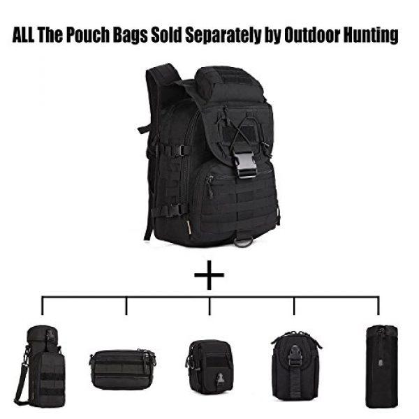 Huntvp Tactical Backpack 3 Huntvp 40L Military Tactical Backpack MOLLE Assault Daypack Rucksack WR