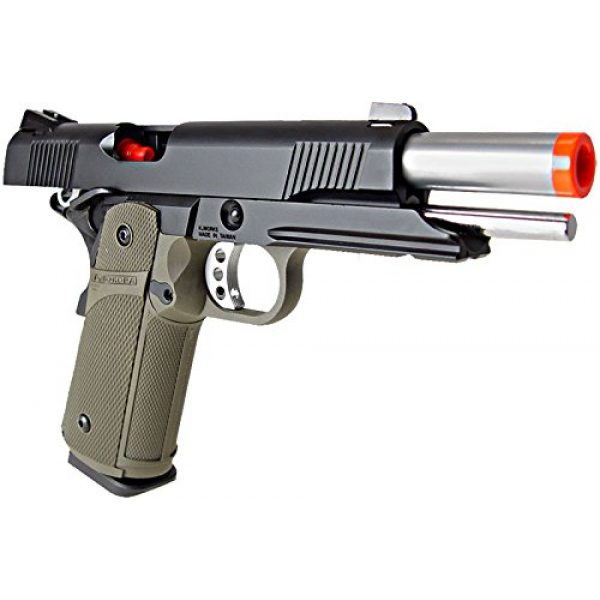 KJW Airsoft Pistol 5 KJW model-615g kp05-s gas/co2 blowback full metal/od green(Airsoft Gun)
