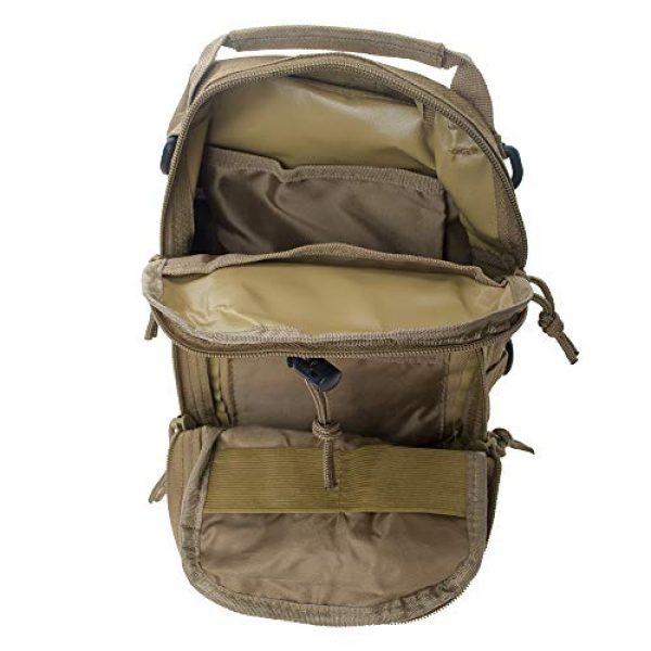 TOPTIE Tactical Backpack 6 TOPTIE Tactical Sling Bag, EDC Molle Sling Bag Range Bag, Camping Hiking Trekking