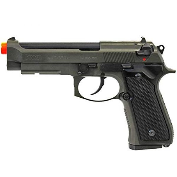 Soft Air Airsoft Pistol 1 Soft Air ANM Customs Cerakote KWA M9 Tactical PTP Gas Blowback Airsoft Pistol