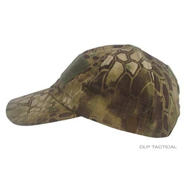 DLP Tactical Tactical Hat 2 DLP Tactical Camo Operator Hat Baseball Cap with Hook and Loop Fastener Panels