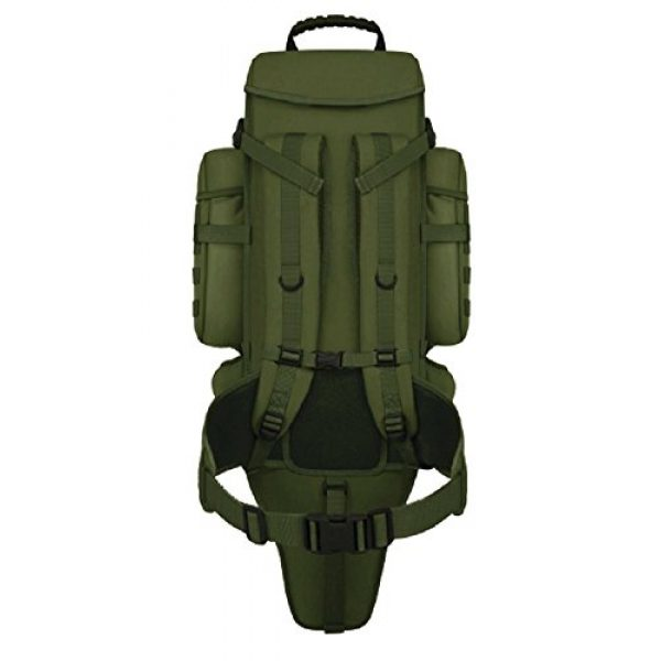 East West U.S.A Tactical Backpack 3 East West U.S.A RT538/RTC538 Tactical Molle Military Assault Rucksacks Backpack, Olive