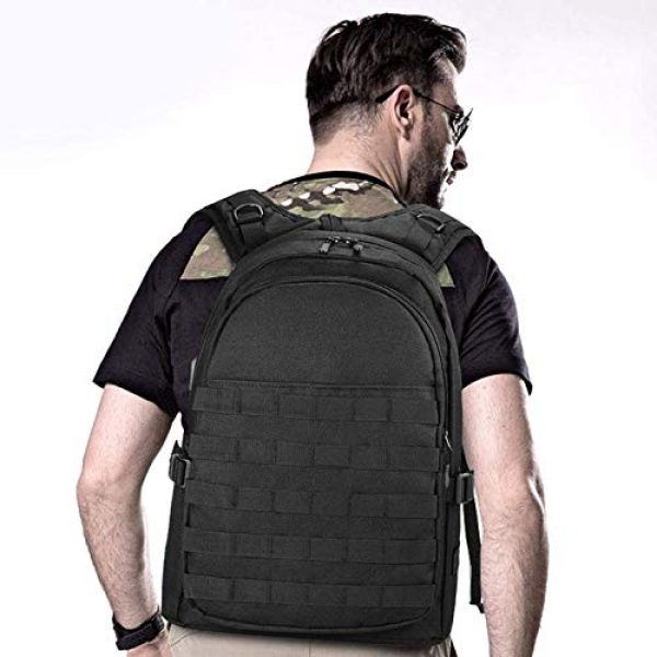 Huntvp Tactical Backpack 7 Huntvp PUBG Backpack Tactical Backpack Laptop Military College Bag Level 3