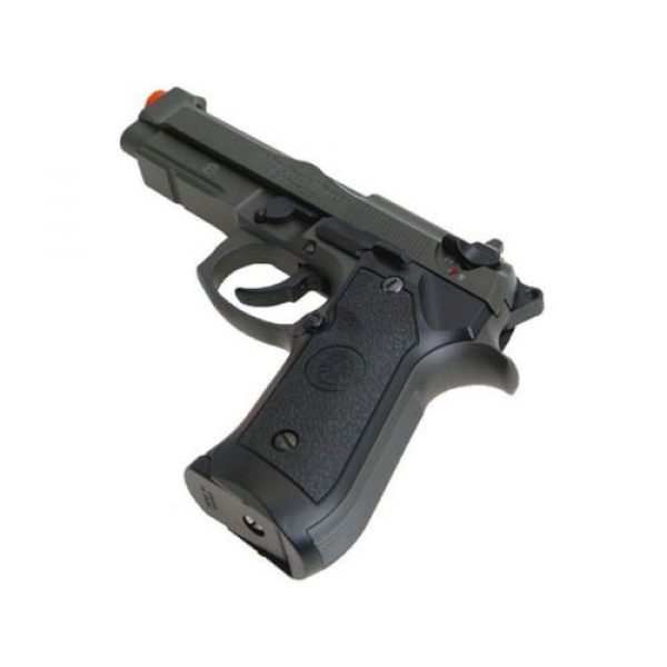 HFC Airsoft Pistol 4 HFC full metal gas powered blowback airsoft pistol m9 with gun case new 320 fps(Airsoft Gun)