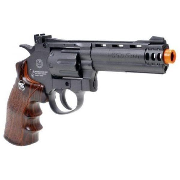 WinGun Airsoft Pistol 1 WG co2 powered air soft non blowback revolver airsoft pistol 4 barrel gun(Airsoft Gun)