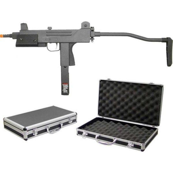 HFC Airsoft HFC SMG Rifle 1 HFC model-203zt77 gas blowback semi/full auto w/deluxe gun case(Airsoft Gun)