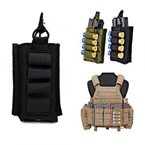 FIRECLUB  1 FIRECLUB Tactical MOLLE Single Open 5.56mm Mag Pouch with Shotgun Strip