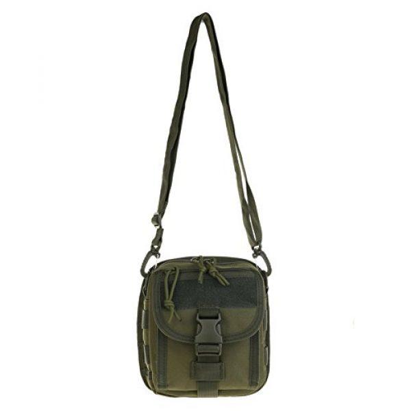 ABD Tactical Backpack 2 ABCAMO Nylon Waterproof Solid Color Outdoor One Shoulder Tactical Sport Bag