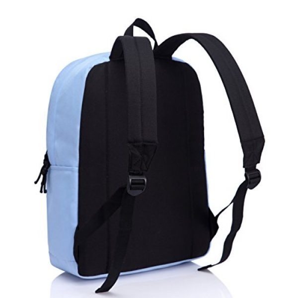 VASCHY Tactical Backpack 6 Lightweight Backpack for School, VASCHY Classic Basic Water Resistant Casual Daypack for Travel with Bottle Side Pockets